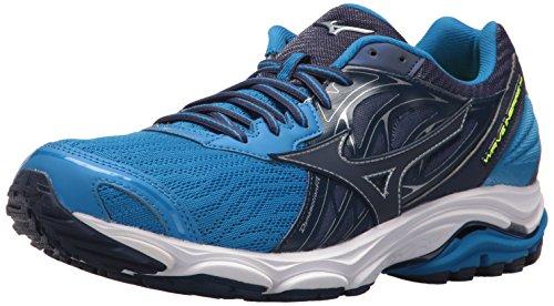 MizunoWave Inspire 14 Men's Running Shoes - Wave Inspire 14 Scarpe da Corsa da Uomo da Uomo, Blu (Directoire Blue/Blue Depths), 43 EU
