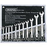 Draper Hi-Torq 29545 11-Piece Metric Combination Spanner Set