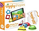A unique combination of physical and digital play that is intuitive for young children. Tiggly Shapes takes traditional shape blocks and shape sorters to a new level by combining best of physical play with digital learning. Children will have the tac...