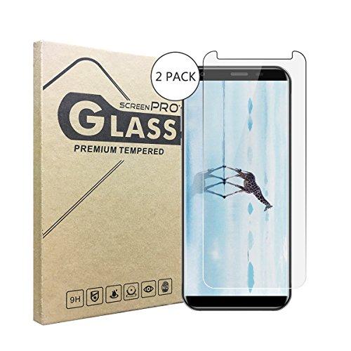 2 Stück Panzerglasfolie Tempered Glass Hartglas Schutzfolie für Oukitel K5,0.3mm clear 2.5D 9H Hardness aus gehärtetem Glas Ultra Clear Panzerglas Transparent Folie für Oukitel K5