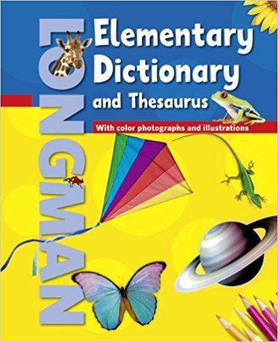 Longman Elementary Dictionary (Ame) & Thesaurus (American Elementary Dictionary and Thesaurus) por Pearson Longman