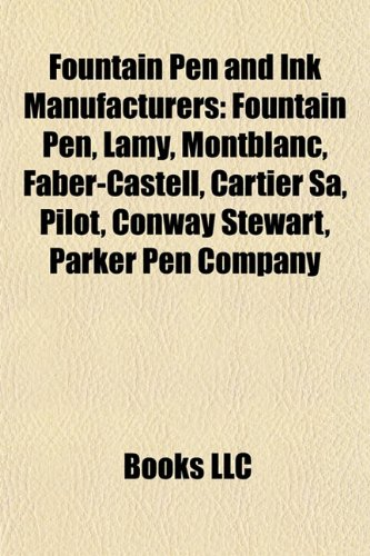 fountain-pen-and-ink-manufacturers-fountain-pen-cartier-sa-lamy-montblanc-faber-castell-pilot-conway