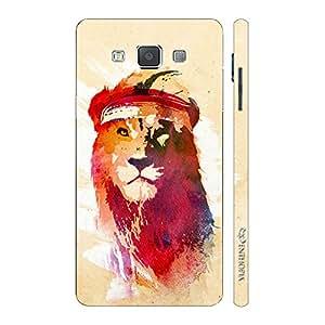 Enthopia Designer Hardshell Case Rapper Simba Back Cover for Samsung Galaxy E5
