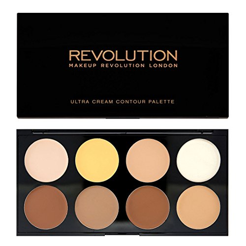 Makeup Revolution Ultra Cream Contour Palette, 13 g