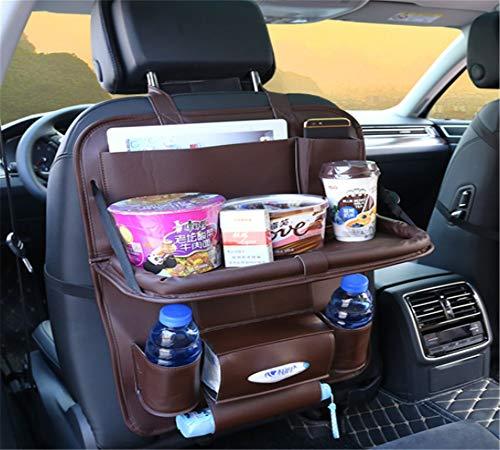 Automotive Interior Accessoires, Multi - Funktions - Stuhl Zurück Leder Klapptisch, Lagerung Auto Sitzlehne Tasche,Kaffee Mit Sitz In Tabelle -