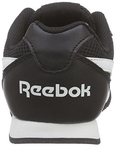 Reebok Royal Classic Jogger, Chaussures de Course Mixte Enfant Noir - Noir (noir/blanc)