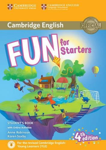 Fun for starters. Student's book. Per la Scuola media. Con espansione online. Con File audio per il download por Anne Robinson