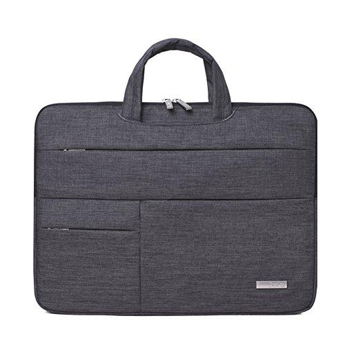 Feisman 13 - 13,5 Zoll Laptop-Hülle für Laptop-Oberfläche Buch Macbook Pro Air, Schutz-Tragetasche für 12