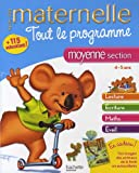 Tout le programme maternelle moyenne section - 4-5 ans
