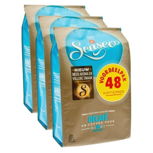 Senseo Kaffeepads Décafé / Entkoffeiniert, Reiches Aroma, Intensiv & Ausgewogen, Kaffee, neues...