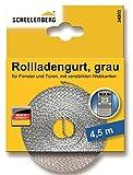 Schellenberg 34502 Rollladengurt 23 mm/4.5 m, grau