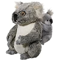 Heunec 284470 Softissimo - Koala de peluche con cría [Importado de Alemania]