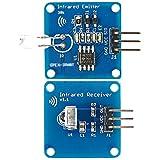 winwill® NE555emisor de infrarrojos + IR Receptor Módulo con 38K portaequipajes para Arduino
