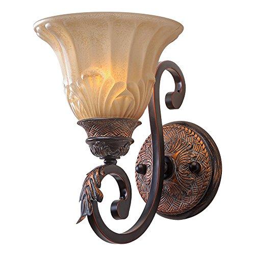 lnc-finitura-olio-strofinato-bronzo-antico-ferro-applique-illuminazione-paralume-in-vetro