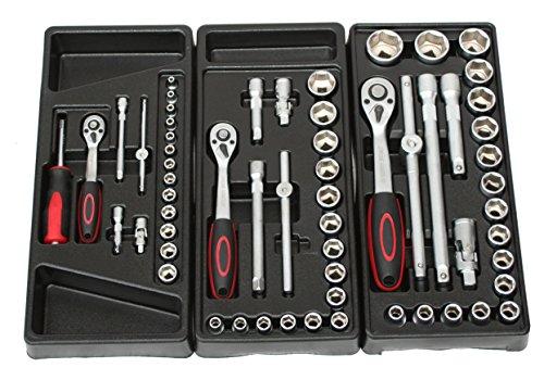 BD-Tools Werkstattwagen bestückt rot - 3