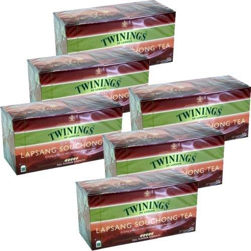 Twinings Teebeutel Lapsang Souchong Tea 6 x 25 Btl. (Souchong Twinings Lapsang)