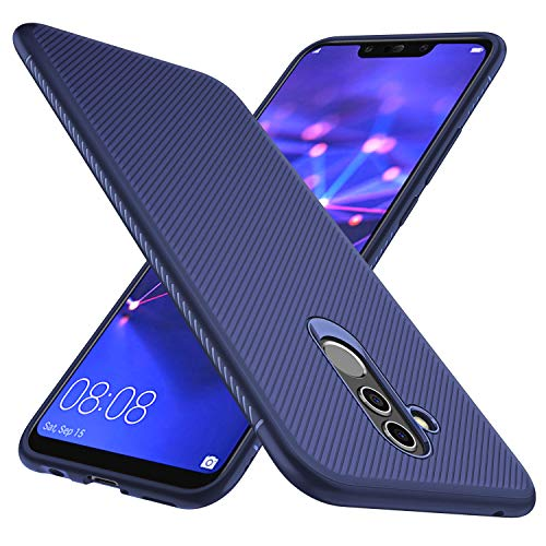 GeeMai Huawei Mate 20 Lite Hülle, [Blau Soft Hülle] Ultra Thin Silikon Schutzhülle Tasche Soft TPU Hüllen Handyhülle für Huawei Mate 20 Lite Smartphone -