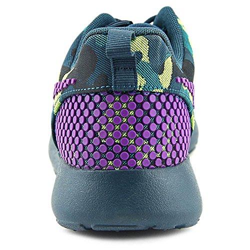 Nike 807614-083 Sc Dn Roshe One 083 Militare Mid Teal / Vivid Purple-tl-radiant Emerald