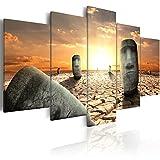 murando - Bilder 200x100 cm - Leinwandbilder - Fertig Aufgespannt - Vlies Leinwand - 5 tlg - Wandbilder XXL - Kunstdrucke - Wandbild - Abstrakt 020101-169