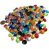 200pieza 11mm reluciente Multicolor Decoración diamantes brillantes brillantes de piedras de acrílico transparente transparente cristal Manualidades gltzer piedras joyas piedras brillantes cristales decorativos para decorar de Crystal King