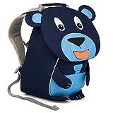 Affenzahn Kinder-Rucksack mit Brustgurt für 1-3 jährige Jungen und Mädchen im Kindergarten Oder Kita der Kleine Freund Bobo Bär - Blau
