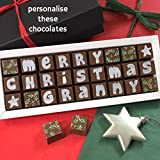 Personalised Merry Christmas Chocolate Box - Customised...