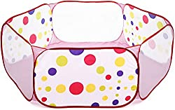 RecTent Jumbo Ball Pit Playpen - 63 inch x 63 inch - Perfect size for Toddlers Babies and Kids - bulk plastic balls not included