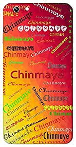 Chinmaye (Cute) Name & Sign Printed All over customize & Personalized!! Protective back cover for your Smart Phone : Sony Z3 PLUS