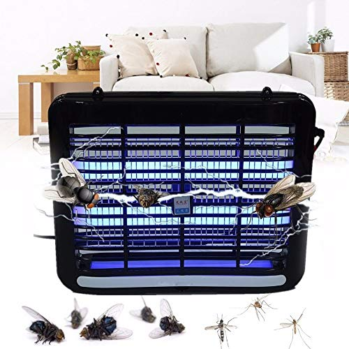 Millent LED Elektronik Moskito Killer Falle Motte Fly Wasp Ultraviolettes Licht Moskito Insekten Killer Bug Fly Zapper Lampe Falle (Color : 4w) - Katzen Wilde Fallen Für Falle