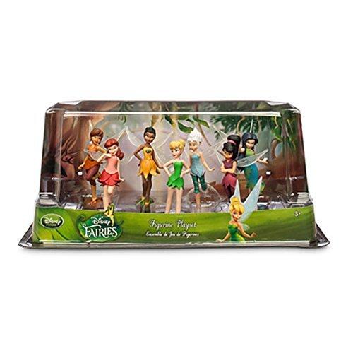 Offizielle Disney Tinkerbell Faries 7 Figur Spielset (Disney Feen Puppen)