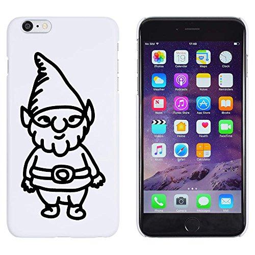 Azeeda Weiß 'Gartenzwerg' Hülle für iPhone 6 Plus & 6s Plus (MC00155386)