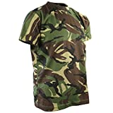 Kombat UK Kids Camo T-Shirt, Dpm Camo, 9-11 Years