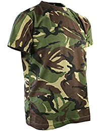 Kombat UK Children's Camo T-Shirt