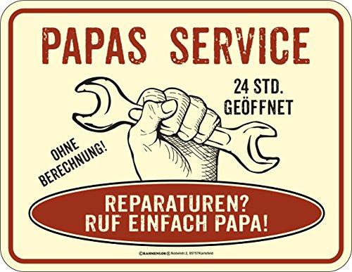 lechschild für den Vater: Papas Service ()