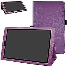 "Medion Lifetab X10302/X10301 hülle,Mama Mouth Folding Ständer Hülle Case mit Standfunktion für 10.1"" Medion Lifetab X10302/X10301 Android Tablet PC,Violett"