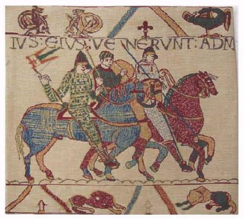 9700 Cover (Bayeux Mont St. Michel II Cushion Wholesale/Size - H 16 x W 16)