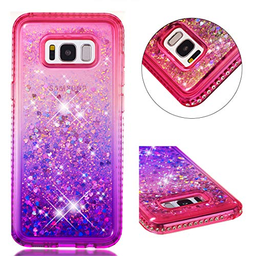Funda Samsung Galaxy S8 Plus Carcasa Purpurina