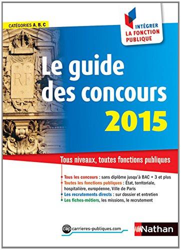 Le guide des concours 2015 par Sylvie Grasser