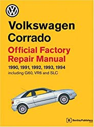 Volkswagen Corrado Official Factory Repair Manual 1990-1994: Official Factory Repair Manual 1990, 1991, 1992, 1993, 1994, Including G60, Vr6 and Slc
