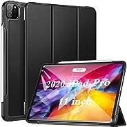 ZtotopCase for iPad Pro 11 2020 2nd Generation, Slim Lightweight Trifold Stand Smart Case, Auto Wake/Sleep PU