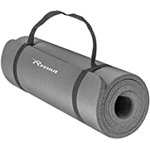 EmpireAthletics – Colchoneta para Yoga Súper Suave con Cinta de Transporte  – Antideslizante Pilates Gimnasia Ejercicios Mat Esterilla Fitness Acolchada 7c4e61a39499