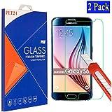 2x Samsung Galaxy S6 plt24 Ultra-Klar Glasfolie Panzerglas Schutzfolie Displayschutzglas ...