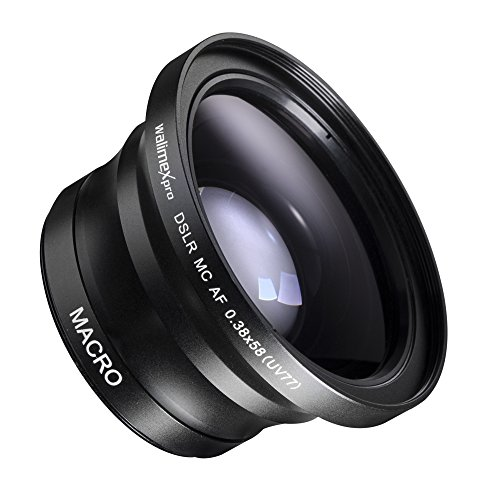 Walimex Pro Makro-Fish Eye Vorsatzlinse 0.38x58