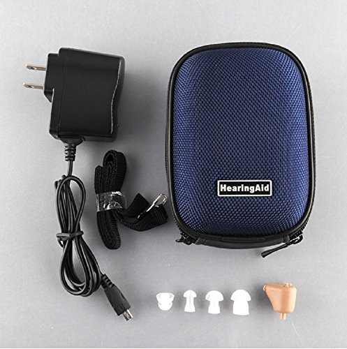 Rechargeable Digital In Ear Hearing Aid with Adjustable Tone