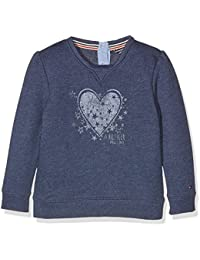 Tommy Hilfiger Heart Print Mini Cn Hwk L/S, Sweat-Shirt Fille