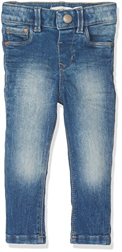 NAME IT Baby-Mädchen Jeans Nittamma Skinny Dnm Pant Mini Noos, Blau (Medium Blue Denim), 104