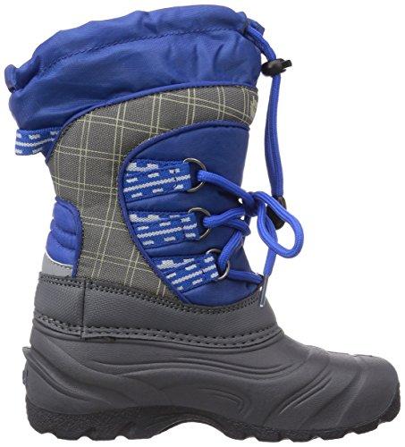Jack Wolfskin Kids Snowpacker, Boots mixte enfant Bleu (Classic Blue 1127)