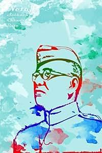 Art Emporio 'Netaji Subhash Chandra Bose' Poster (Poster Paper, 45.72 cm x 30.48 cm)