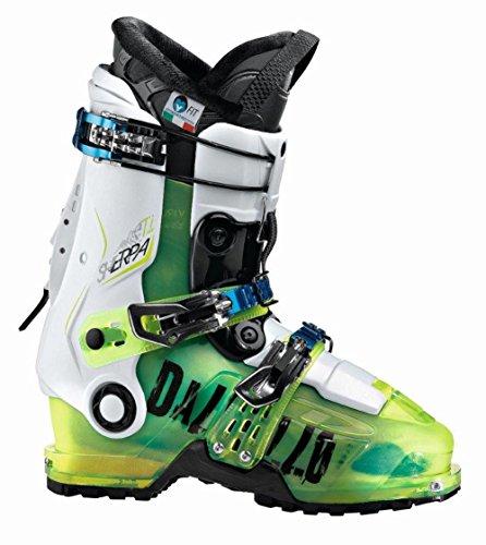 Dalbello scarponi da sci da uomo Sherpa T.I. se/Verde FL.Trasparente/Bianco/Mondopoint 27,5