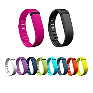 Set of 10pcs Small S Colorfull Replacement Wrist Band With Clasp for Fitbit FLEX Only /No tracker/ Wireless Activity Bracelet Sport Wristband Fit Bit Flex Bracelet Sport Arm Band Armband